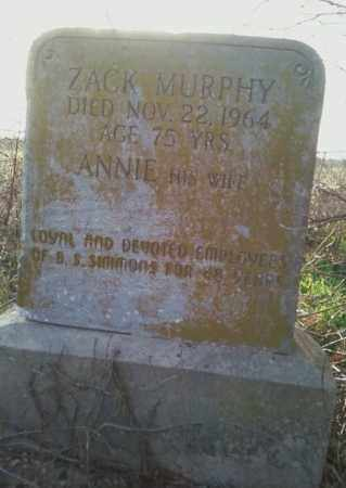 MURPHY, ANNIE - Mississippi County, Arkansas | ANNIE MURPHY - Arkansas Gravestone Photos