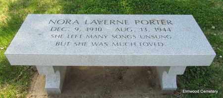 PORTER, NORA LAVERNE - Mississippi County, Arkansas | NORA LAVERNE PORTER - Arkansas Gravestone Photos