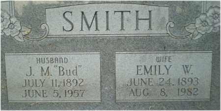 "SMITH, J. M. ""BUD"" - Mississippi County, Arkansas | J. M. ""BUD"" SMITH - Arkansas Gravestone Photos"