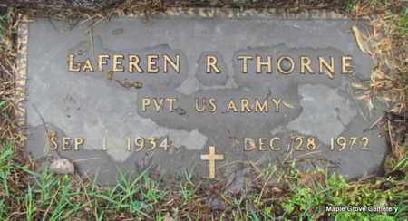 THORNE (VETERAN), LAFEREN R - Mississippi County, Arkansas | LAFEREN R THORNE (VETERAN) - Arkansas Gravestone Photos