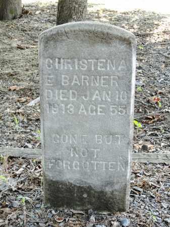 BARNER, CHRISTENA E - Monroe County, Arkansas   CHRISTENA E BARNER - Arkansas Gravestone Photos