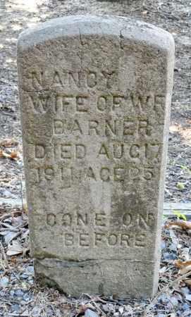 BARNER, NANCY - Monroe County, Arkansas | NANCY BARNER - Arkansas Gravestone Photos