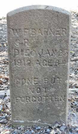 BARNER, SR, W. F. - Monroe County, Arkansas   W. F. BARNER, SR - Arkansas Gravestone Photos