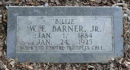 "BARNER, JR., W. F. ""BILLIE"" - Monroe County, Arkansas   W. F. ""BILLIE"" BARNER, JR. - Arkansas Gravestone Photos"
