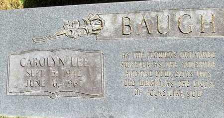 BAUGH, CAROLYN - Monroe County, Arkansas | CAROLYN BAUGH - Arkansas Gravestone Photos