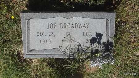 BROADWAY, JOE - Monroe County, Arkansas | JOE BROADWAY - Arkansas Gravestone Photos