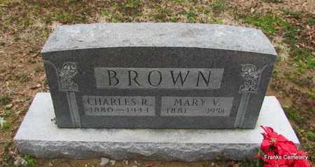 BROWN, CHARLES R - Monroe County, Arkansas | CHARLES R BROWN - Arkansas Gravestone Photos