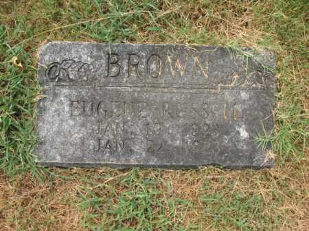BROWN, EUGENE RUSSELL - Monroe County, Arkansas | EUGENE RUSSELL BROWN - Arkansas Gravestone Photos