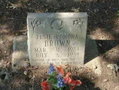 BROWN, ELSIE - Monroe County, Arkansas | ELSIE BROWN - Arkansas Gravestone Photos