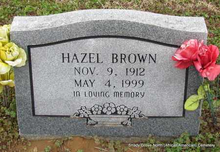 BROWN, HAZEL - Monroe County, Arkansas | HAZEL BROWN - Arkansas Gravestone Photos