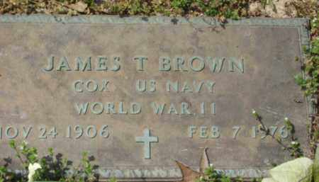 BROWN, COX JAMES T - Monroe County, Arkansas | COX JAMES T BROWN - Arkansas Gravestone Photos