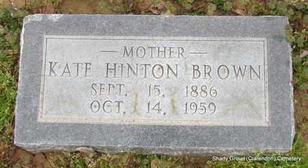 BROWN, KATE - Monroe County, Arkansas | KATE BROWN - Arkansas Gravestone Photos