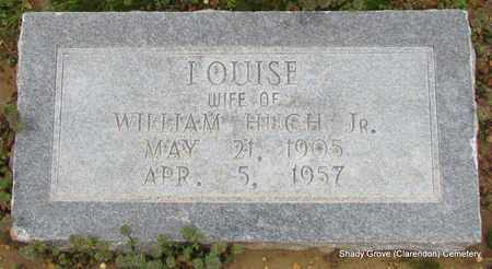 BUERKLE BROWN, LOUISE - Monroe County, Arkansas | LOUISE BUERKLE BROWN - Arkansas Gravestone Photos