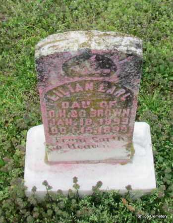 BROWN, LILLIAN EARL - Monroe County, Arkansas | LILLIAN EARL BROWN - Arkansas Gravestone Photos