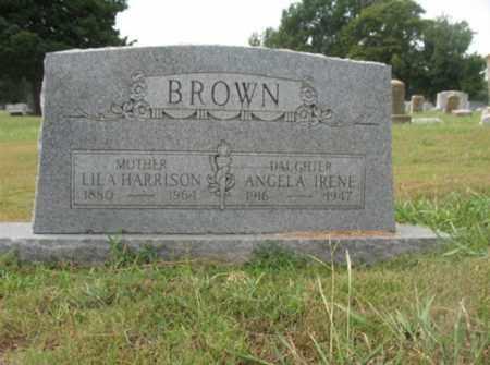 BROWN, LILA - Monroe County, Arkansas | LILA BROWN - Arkansas Gravestone Photos