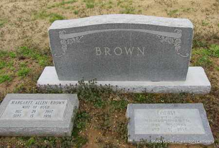 BROWN, MARGARET (OVERVIEW) - Monroe County, Arkansas | MARGARET (OVERVIEW) BROWN - Arkansas Gravestone Photos