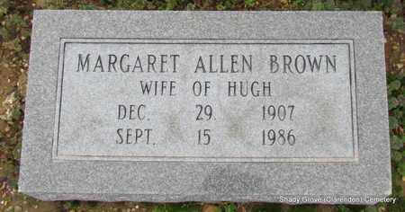 BROWN, MARGARET - Monroe County, Arkansas | MARGARET BROWN - Arkansas Gravestone Photos