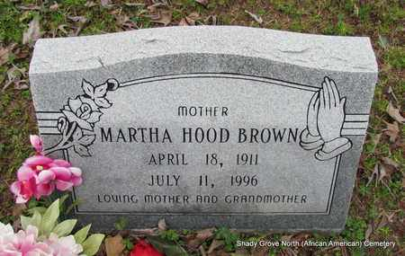 BROWN, MARTHA - Monroe County, Arkansas | MARTHA BROWN - Arkansas Gravestone Photos