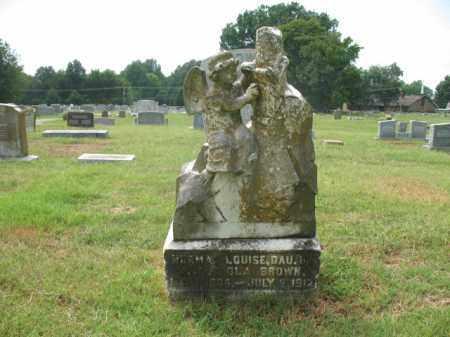 BROWN, NORMA LOUISE - Monroe County, Arkansas | NORMA LOUISE BROWN - Arkansas Gravestone Photos