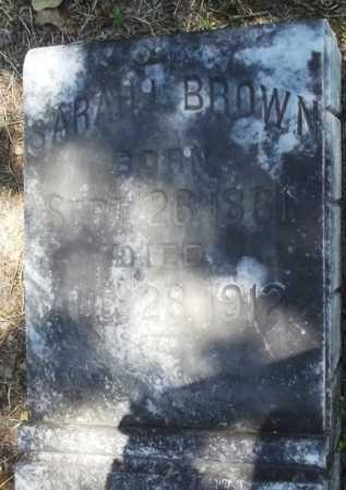 PLEDGER BROWN, SARAH - Monroe County, Arkansas | SARAH PLEDGER BROWN - Arkansas Gravestone Photos