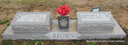 BROWN, WILLIAM L - Monroe County, Arkansas | WILLIAM L BROWN - Arkansas Gravestone Photos