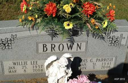 PARRISH BROWN, LOIS G - Monroe County, Arkansas | LOIS G PARRISH BROWN - Arkansas Gravestone Photos