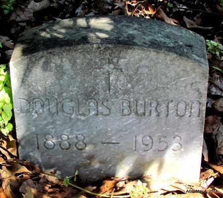 BURTON, DOUGLAS - Monroe County, Arkansas   DOUGLAS BURTON - Arkansas Gravestone Photos