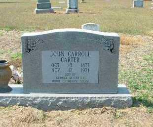 CARTER, JOHN - Monroe County, Arkansas | JOHN CARTER - Arkansas Gravestone Photos