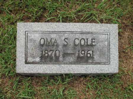 COLE, OMA S - Monroe County, Arkansas | OMA S COLE - Arkansas Gravestone Photos