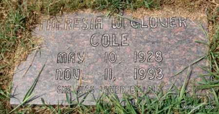 COLE, THERESIA W - Monroe County, Arkansas | THERESIA W COLE - Arkansas Gravestone Photos