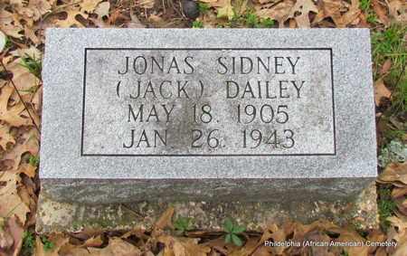 DAILEY, JONAS SIDNEY (JACK) - Monroe County, Arkansas | JONAS SIDNEY (JACK) DAILEY - Arkansas Gravestone Photos