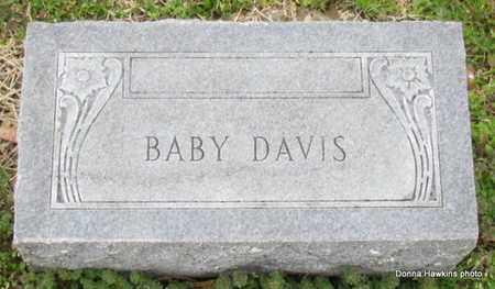 DAVIS, BABY (1 OF 3) - Monroe County, Arkansas   BABY (1 OF 3) DAVIS - Arkansas Gravestone Photos