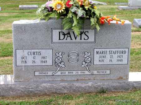 DAVIS, CURTIS - Monroe County, Arkansas   CURTIS DAVIS - Arkansas Gravestone Photos
