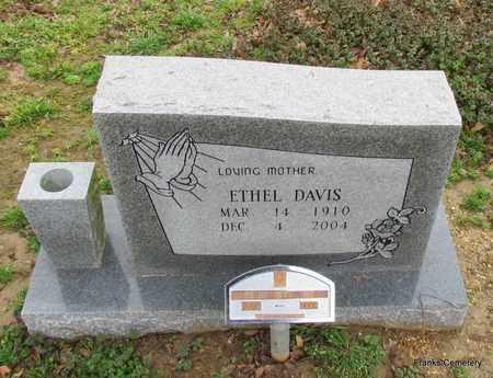 DAVIS, ETHEL - Monroe County, Arkansas | ETHEL DAVIS - Arkansas Gravestone Photos