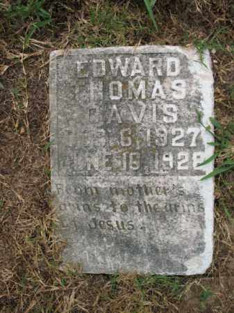 DAVIS, EDWARD THOMAS - Monroe County, Arkansas | EDWARD THOMAS DAVIS - Arkansas Gravestone Photos