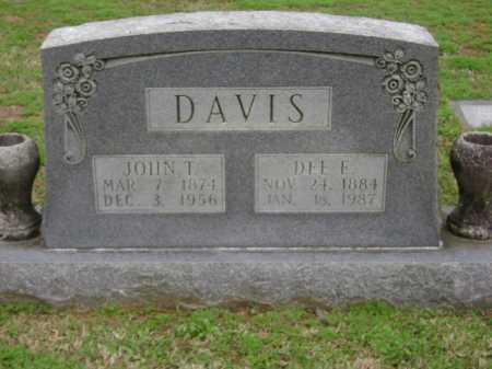 DAVIS, DEE E. - Monroe County, Arkansas | DEE E. DAVIS - Arkansas Gravestone Photos