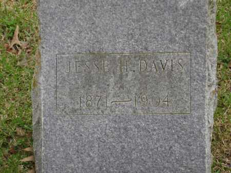 DAVIS, JESSE H. - Monroe County, Arkansas | JESSE H. DAVIS - Arkansas Gravestone Photos