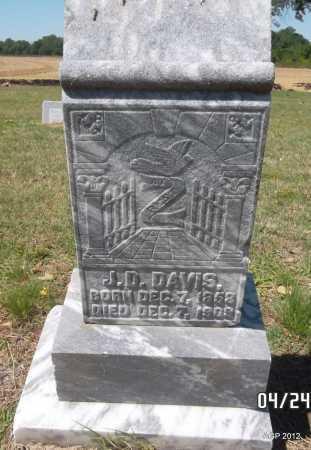 DAVIS, J D - Monroe County, Arkansas | J D DAVIS - Arkansas Gravestone Photos