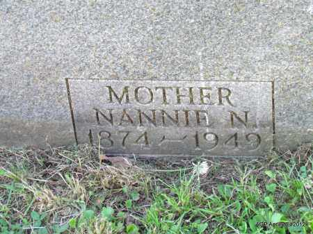 DAVIS, NANNIE N (CLOSE UP) - Monroe County, Arkansas | NANNIE N (CLOSE UP) DAVIS - Arkansas Gravestone Photos