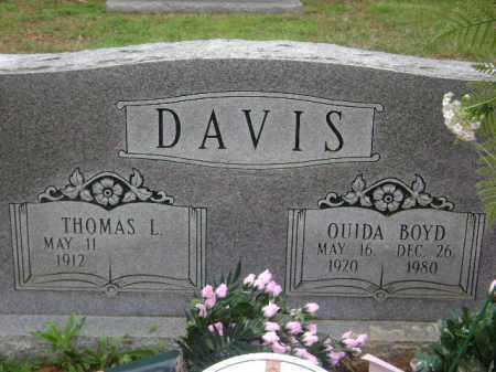DAVIS, THOMAS L. - Monroe County, Arkansas | THOMAS L. DAVIS - Arkansas Gravestone Photos