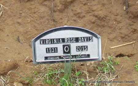 DAVIS, VIRGINIA ROSE - Monroe County, Arkansas | VIRGINIA ROSE DAVIS - Arkansas Gravestone Photos