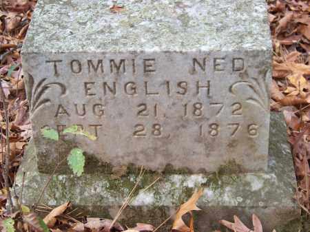 ENGLISH, TOMMIE NED - Monroe County, Arkansas   TOMMIE NED ENGLISH - Arkansas Gravestone Photos