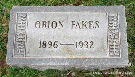 FAKES, ORION - Monroe County, Arkansas | ORION FAKES - Arkansas Gravestone Photos