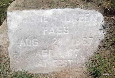 GREEN, SALLIE  (?) - Monroe County, Arkansas   SALLIE  (?) GREEN - Arkansas Gravestone Photos