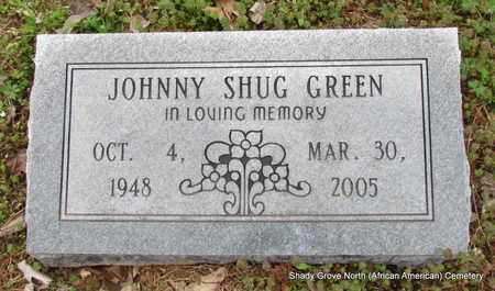 GREEN, JOHNNY SHUG - Monroe County, Arkansas | JOHNNY SHUG GREEN - Arkansas Gravestone Photos