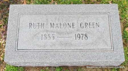 GREEN, RUTH - Monroe County, Arkansas   RUTH GREEN - Arkansas Gravestone Photos