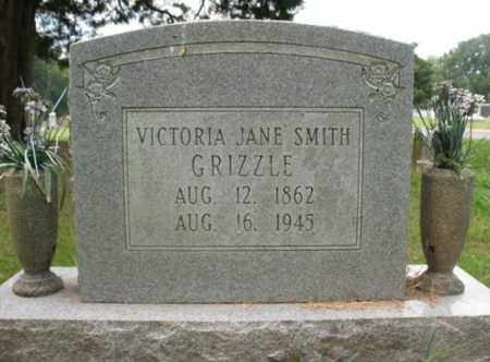 GRIZZLE, VICTORIA JANE - Monroe County, Arkansas | VICTORIA JANE GRIZZLE - Arkansas Gravestone Photos