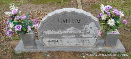 HALLUM, GEORGE W - Monroe County, Arkansas | GEORGE W HALLUM - Arkansas Gravestone Photos