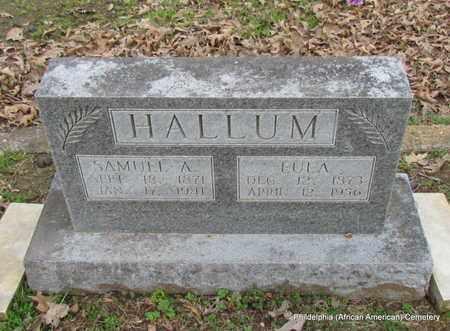 HALLUM, EULA - Monroe County, Arkansas   EULA HALLUM - Arkansas Gravestone Photos