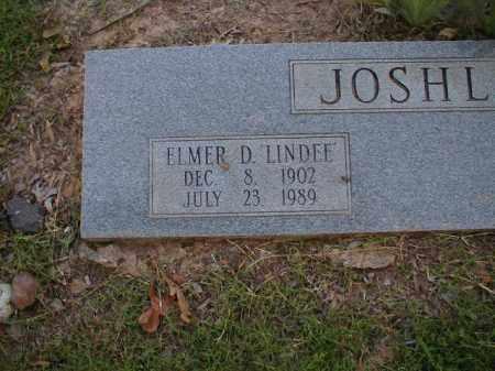 JOSHLIN, ELMER D. 'LINDEE' - Monroe County, Arkansas   ELMER D. 'LINDEE' JOSHLIN - Arkansas Gravestone Photos